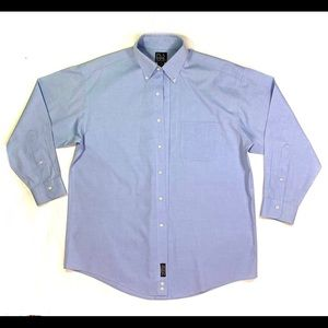 Jos. A. Bank Blue dress shirt 100% Cotton